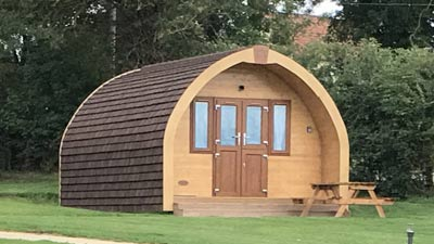 Our luxury glamping pods